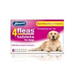 4fleas Tablets For Dogs...