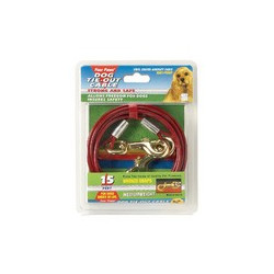 FOUR PAWS TIE-OUT CABLE 15FT