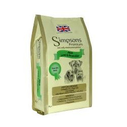 SIMPSONS LAMB & RICE 2 Kg