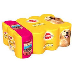 PEDIGREE LOAF MEAT VARIETY...