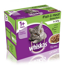 Whiskas FISH & MEAT SELECTION 12 Items