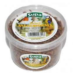 DRIED MEALWORMS SUPA 500ml