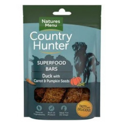 Country Hunter Bars DUCK WITH CARROT & P 100g