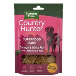 Country Hunter Bars SALMON & WHITE FISH 100g