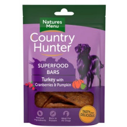 Country Hunter Bars TURKEY WITH CRAN & P 100g