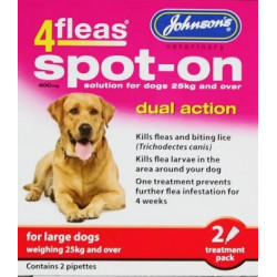 4fleas Spot On LARGE Dog 2 Items