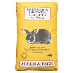 A & P RABBIT PELLETS 20 Kg