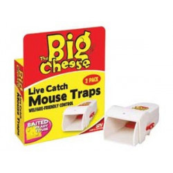 BIG CHEESE MOUSE LIVE CATCH TRAP
