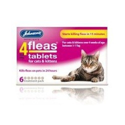 4fleas Tablets For Cats/kittens
