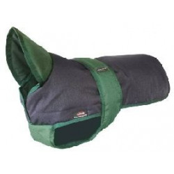 ANIMATE DOG COAT WITH UNDERBELLY 14""