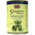 SIMPSONS  BUFFALO & LAMB 400g