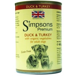 SIMPSONS  DUCK & TURKEY 400g