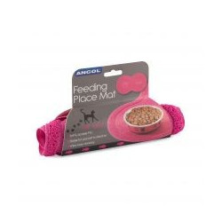 ANCOL FEEDING MAT PINK FOR CATS